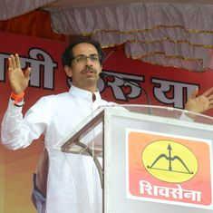 'Achchhe Din are seen only in official advertisements' says Shiv Sena chief Uddhav Thackeray