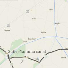 Sutlej-Yamuna Link Canal row: Haryana government moves Supreme Court to seek early hearing
