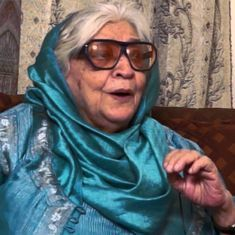 Krishna Sobti wins Jnanpith Award for her contribution to Hindi literature