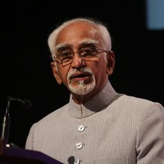 'You will now feel free': Narendra Modi tells outgoing Vice President Hamid Ansari