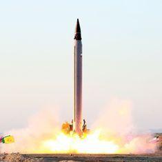 ईरान ने बैलेस्टिक मिसाइल का परीक्षण करने की बात मानी