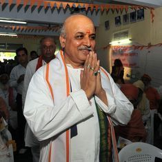 VHP chief Pravin Togadia writes to Modi, seeks to meet him for 'heart-to-heart discussion'