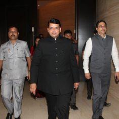 Maharashtra CM Devendra Fadnavis refutes Congress' allegations of his involvement in a land scam