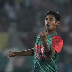 Mustafizur Rahman to miss Bangladesh's Test series against West Indies due to toe injury