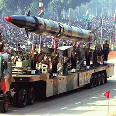 India test-fires nuclear-capable ballistic missile Agni-II off Odisha coast