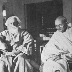 गांधी को महात्मा की उपाधि देने वाले गुरुदेव उनके सबसे बड़े आलोचक भी रहे और सबसे बड़े मुरीद भी
