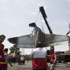 ईरान : सैन्य मालवाहक विमान रनवे पर फिसलकर दुर्घटनाग्रस्त हुआ, 15 लोग मारे गए