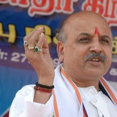 Gujarat court drops attempt to murder charges against Togadia, 38 others after state withdraws case