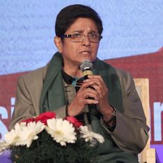 Puducherry LG Kiran Bedi's swearing-in of MLAs nominated by Centre sparks political protest
