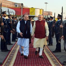 SCO summit: Narendra Modi meets Nawaz Sharif for the first time in 17 months, exchanges pleasantries