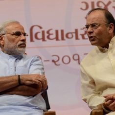 Narendra Modi visits Arun Jaitley after he opts out of Cabinet position in BJP's second term