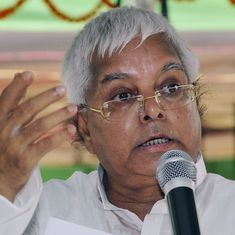 Fodder scam: Lalu Prasad Yadav gets five years in jail in Chaibasa case