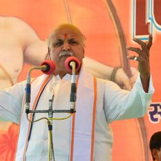 Gujarat: VHP leader Pravin Togadia claims conspiracy against him after a truck hit his car