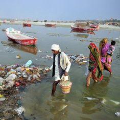 गंगा की सफाई के लिए आवंटित रकम का केवल 20 फीसदी खर्च हो पाने सहित आज की प्रमुख सुर्खियां