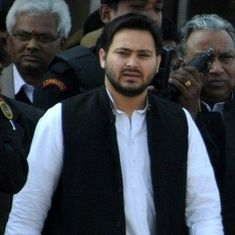 Watch: Bihar Deputy CM Tejashwi Yadav's bodyguards rough up journalists outside state secretariat