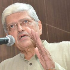 Former West Bengal governor Gopal Krishna Gandhi is Opposition's choice for vice president