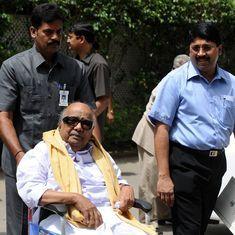Tamil Nadu: DMK chief M Karunanidhi admitted to Chennai hospital
