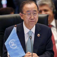 Former UN chief Ban Ki-moon will not run for South Korean presidency