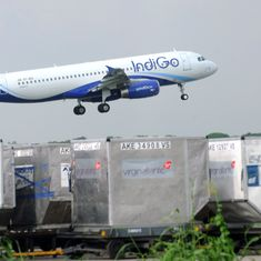 Visakhapatnam: IndiGo flight with 159 on board hits wild boar during take-off, no injuries reported