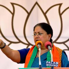 Zafar Khan's death 'extremely unfortunate', but not murder, indicates Rajasthan CM Vasundhara Raje