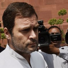 Those who are weak and powerless have no choice in Narendra Modi's Gujarat, says Rahul Gandhi
