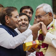 'No question of a new party': Sharad Yadav rules out splitting from the JD(U)
