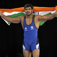 Sushil Kumar, Sakshi Malik win gold at Commonwealth Wrestling Championships