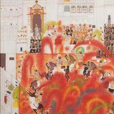ये पेंटिंग्स बताती हैं कि मुगल और बाकी राजे-रजवाड़ों में किस उत्साह से होली खेली जाती थी