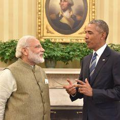 बराक ओबामा ने प्रधानमंत्री नरेंद्र मोदी को फोन किया, कहा - रिश्ते मजबूत बनाने के लिए धन्यवाद