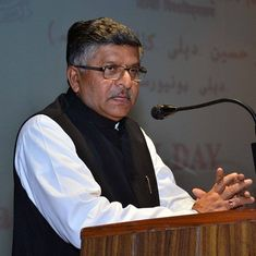 Ravi Shankar Prasad asks Rahul Gandhi to support bills prohibiting triple talaq and nikah halala