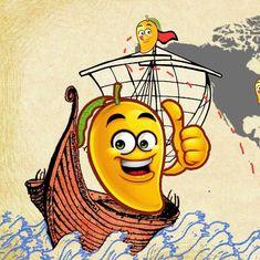 वास्कोडिगामा ने भारत खोजा और फिर हमारे आम ने पूरी दुनिया खोज ली