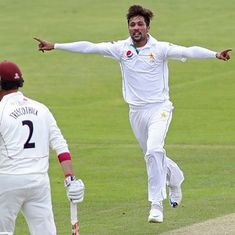 Video: Be very scared, England. Mohammad Amir looks like he means business