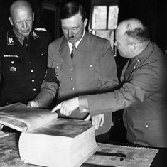 The curious history of Hitler's 'Mein Kampf' in France