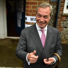 Having divided and conquered, Nigel Farage makes a perfectly timed exit