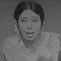 Who can sing 'Dasht E Tanhai' better than Iqbal Bano?