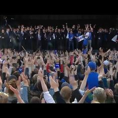 Watch: No football team has been welcomed back home like Iceland was after Euro 2016