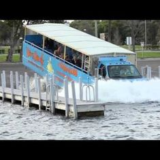 Watch 'The Duck', an amphibious bus that will take you on rides in Mumbai