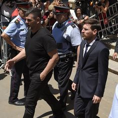 Lionel Messi and his father sentenced to 21 months in prison for tax evasion