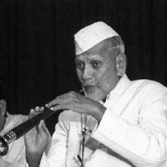 Re-created concerts: Shehnai maestro Bismillah Khan at Mumbai's Swami Haridas Sammelan in 1962