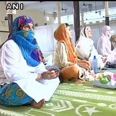 Women offer namaz at Lucknow's main mosque on Eid for the first time