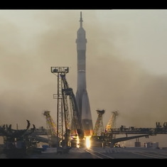 Watch: Expedition 48 takes off for its four-month long mission aboard the ISS