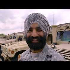 Meet Captain Simratpal Singh, the Sikh US soldier who won a lawsuit for the right to wear a turban