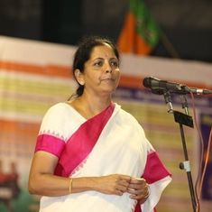 'Arunachal is our territory, we are not concerned with China's view,' says Nirmala Sitharaman