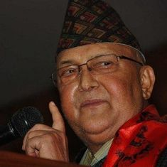 Maoists withdraw support from Nepal's government spelling trouble for PM KP Oli