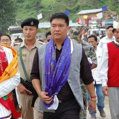 Pema Khandu sworn in as new chief minister of Arunachal Pradesh