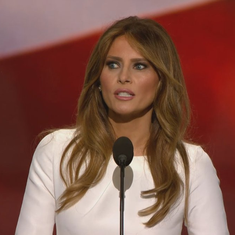 Watch: Melania Trump's convention speech sounds identical to Michelle Obama's from 2008