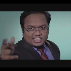 Watch: A Ravish Kumar parody provides a surprise beginning to the return of 'Arnub' Goswami