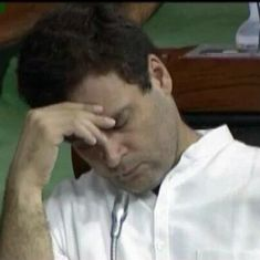 Rahul Gandhi thinks dissent is important, so why hasn't he spoken up against the Amnesty FIR?