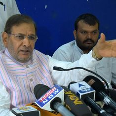 Delhi High Court refuses to stay Sharad Yadav's disqualification from Rajya Sabha