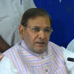 The big news: JD(U)'s Sharad Yadav opposes alliance with the BJP in Bihar, and 9 other top stories